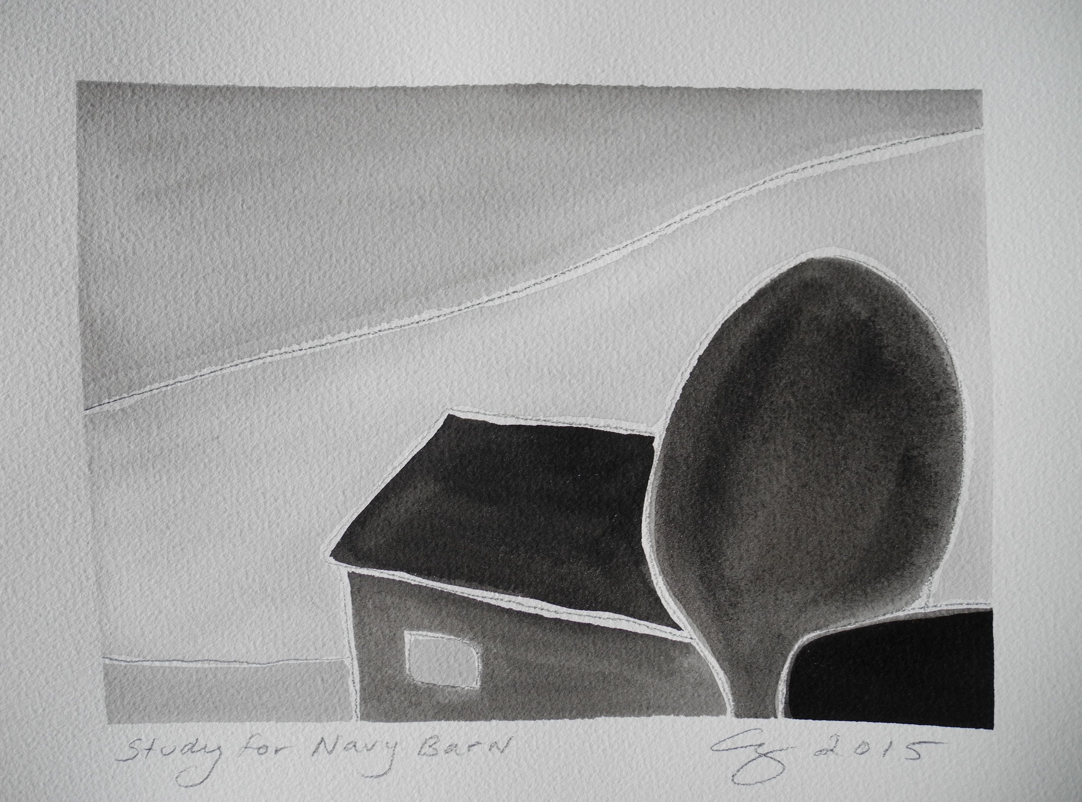 Study for Navy Barn