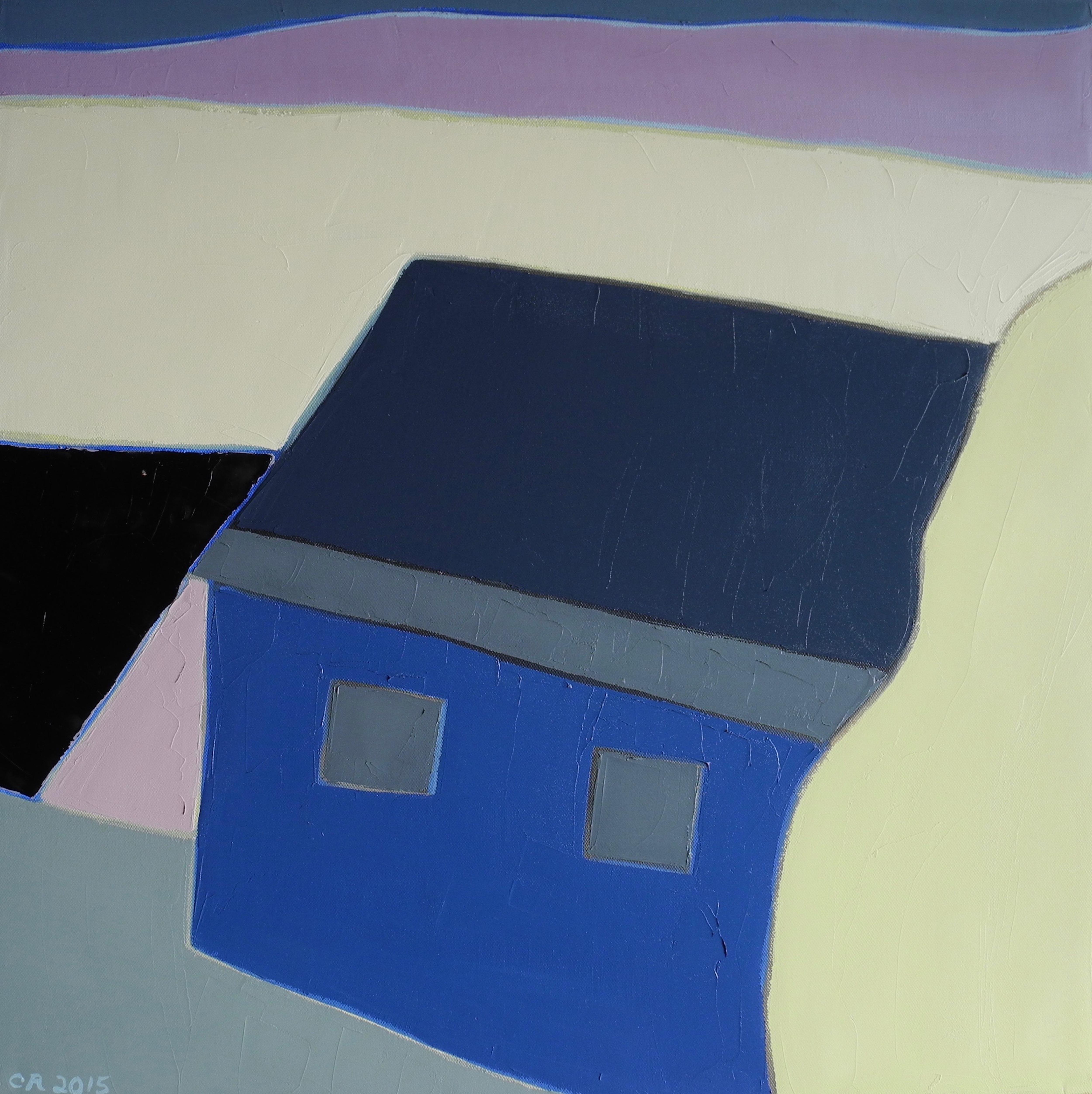 Hidden Blue Barn