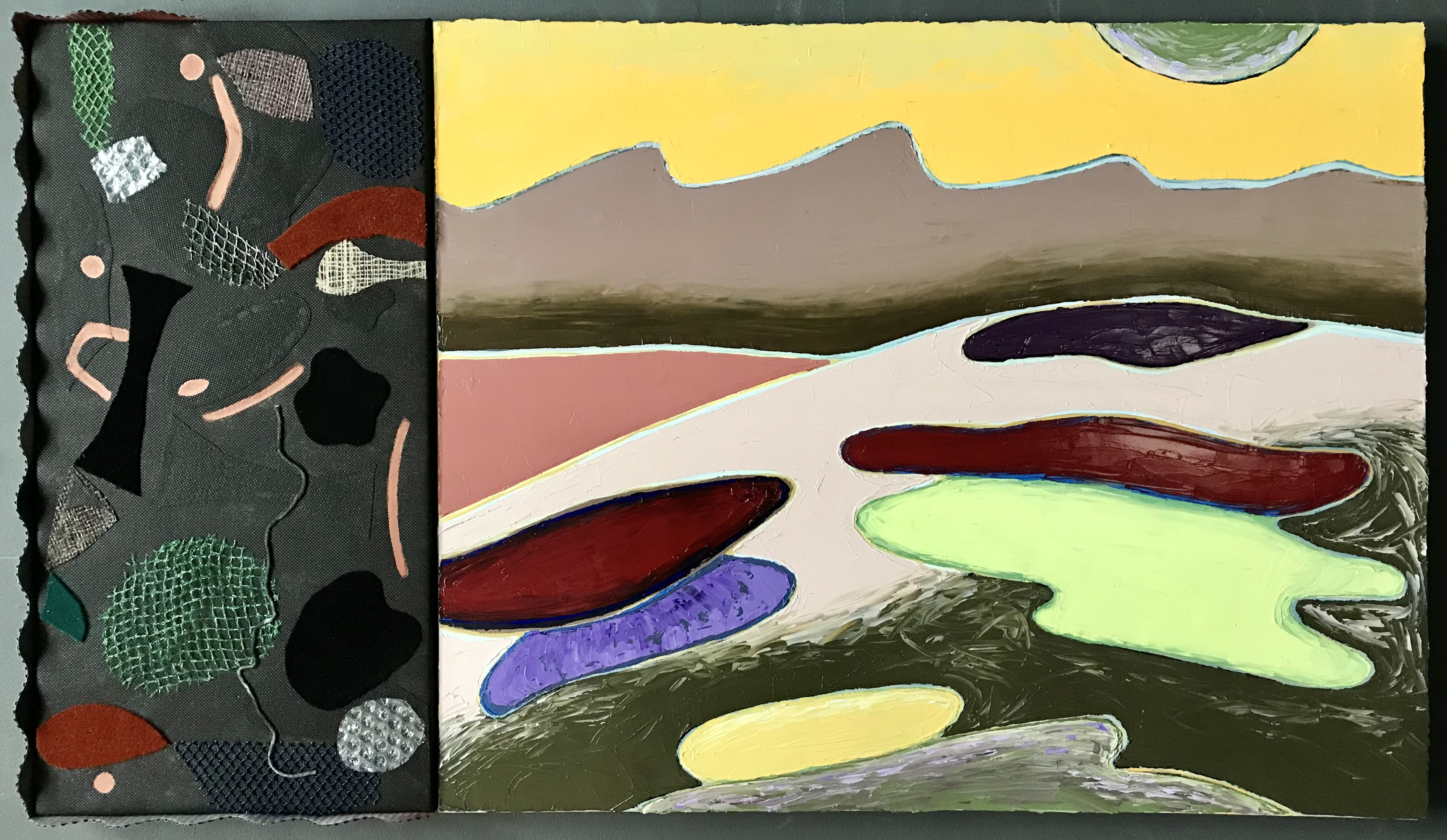 Back in Jump Valley (diptych)