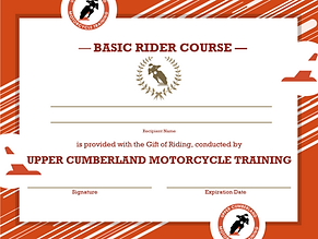 Gift Certificate, Ride Safe, Enjoy theRide