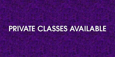 Private Classes Available