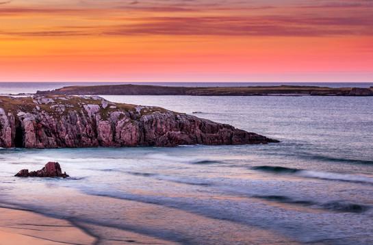 Ceannabeine Sunset
