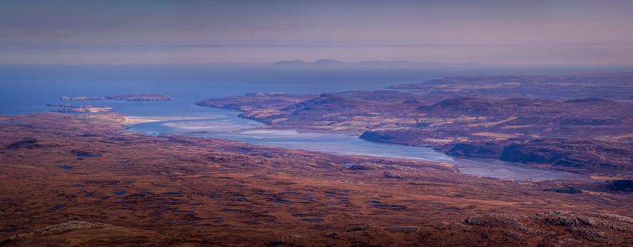 Orkney on the Horizon.