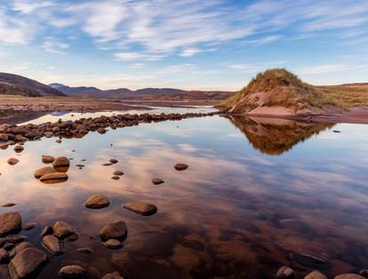 Sunrise at Sandwood's Loch