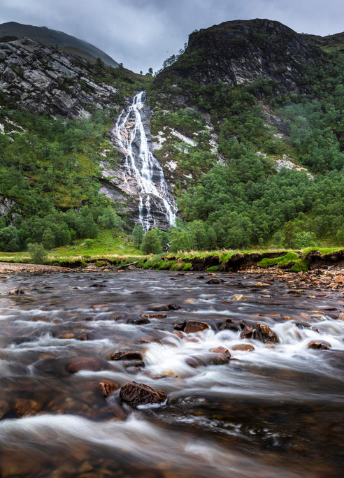 Flow from Steall Falls.