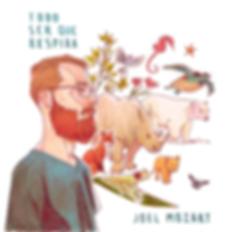 Capa do CD Todo Ser Que Respira | Joel Mozart