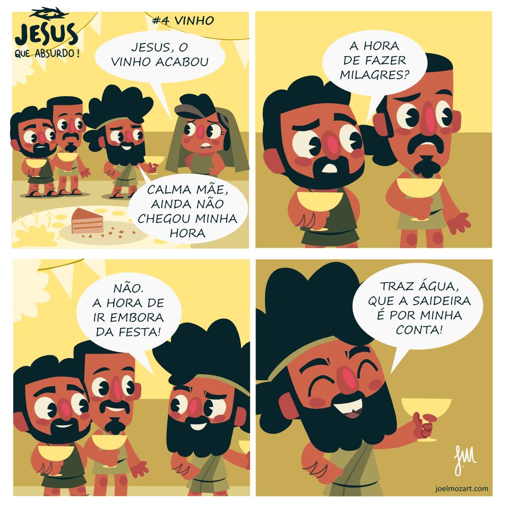 Jesus que absurdo | Vinho