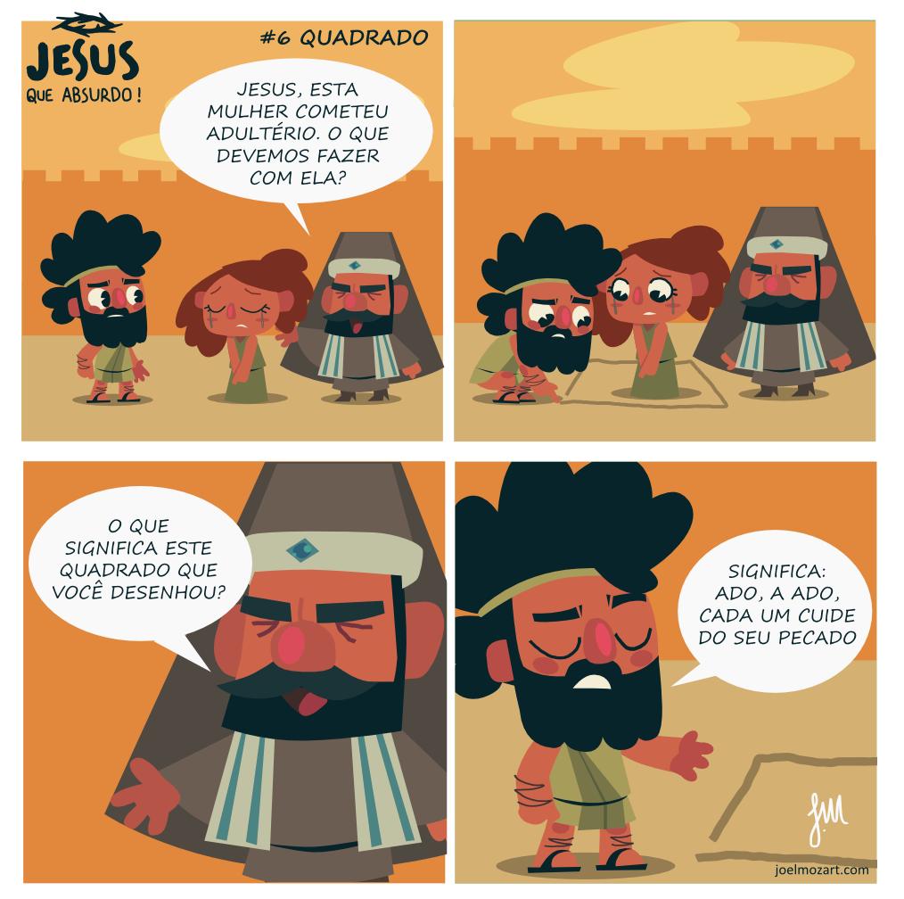 Jesus que absurdo | Quadrado