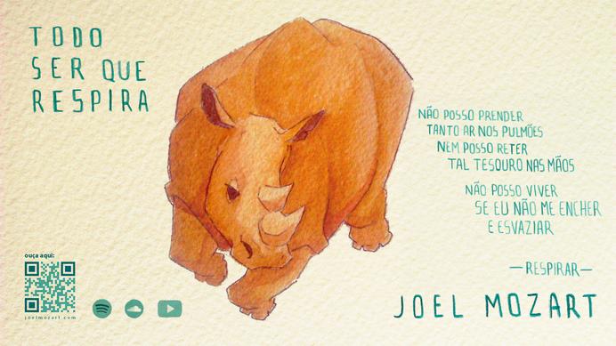rhino painting wallpaper