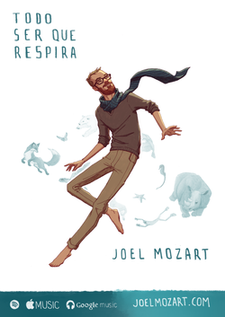 cartaz com Joel Mozart