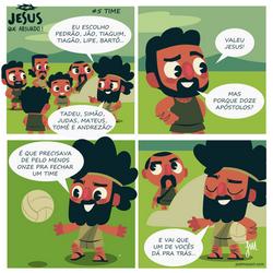 Jesus que absurdo   Time