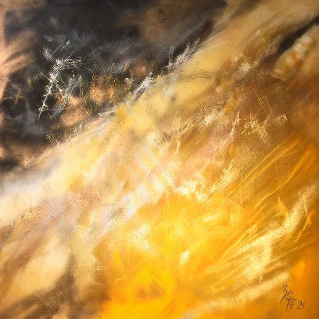 Atelier in Au - Gallery of Art - Title _ summer dream _ 2021 - 100 x 100