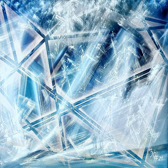 "Ölgemälde "" ice dream "" 100 x 100"