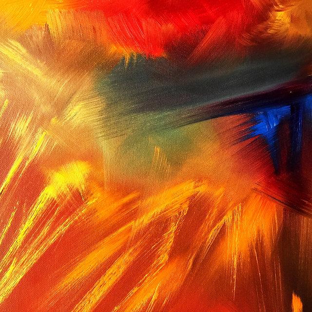 Atelier in Au - Gallery of Art - Title _ l´ inferno di Dante _ 2021 - Details