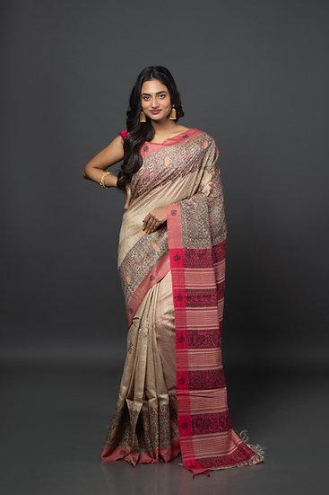 Madhubani Magic Saree