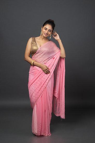 Blush Crush Soft Saree
