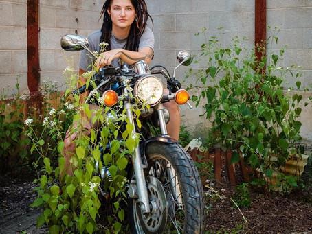 CHELSEA, the biker + artist