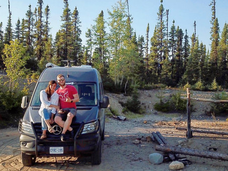 CASSIE and JOSH, the vanlife couple