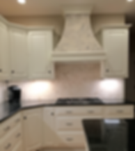 Cabinet Painter | Custom Range Hood in Lancaster, Pa