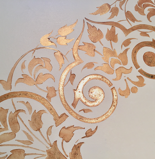 Custom Stenciled Ceiling | Stencilist in Lancaster, PA