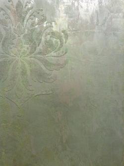 Glass-Bead Stencil