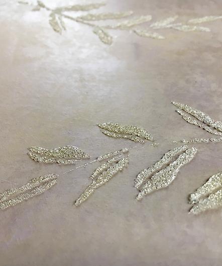 Glass-Beaded Stenciling | Stencil Artist | Lancaster, PA