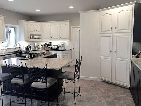 Custom Cabinet Painting & Glazing in Lancaster, Pa