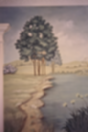 Lancaster County PA Landscape Mural | Custom Mural Painting