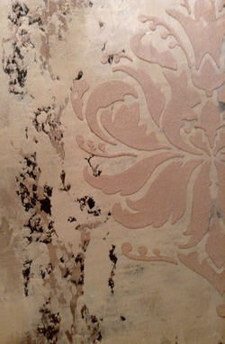 Lusterstone Embossed Stencil