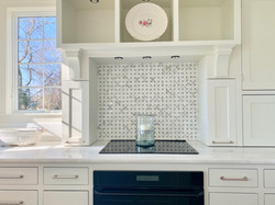 White Painted Cabinets