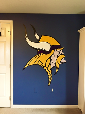 Lancaster County PA Sports Theme Mural | Sports Mural