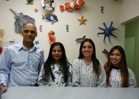 Suni and staff at Somerset Pediatric Den