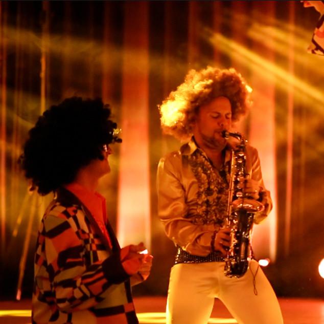 Disco Show+Saxophon