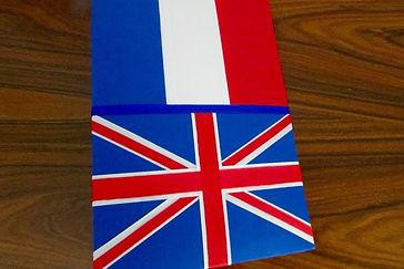 Álbum de fotos com folhas plásticas para 250 fotos 10x 15. Cada folha tem capacidade para 4 fotos e espaço para colocação de memo descritivo sobre as fotos, que vem junto com o álbum. Capa revestida com tecido,com as cores e o formato das bandeiras da França e da Inglaterra. Montagemcom parafusos. Verificar disponibilidade de estampas.  Frete não incluído. Medida: 27,0 x 19,0 x 7,0 cm (C x L x A) Peso: 1.300g Prazo de produção: 20 dias corridos  Valor: R$ 200,00