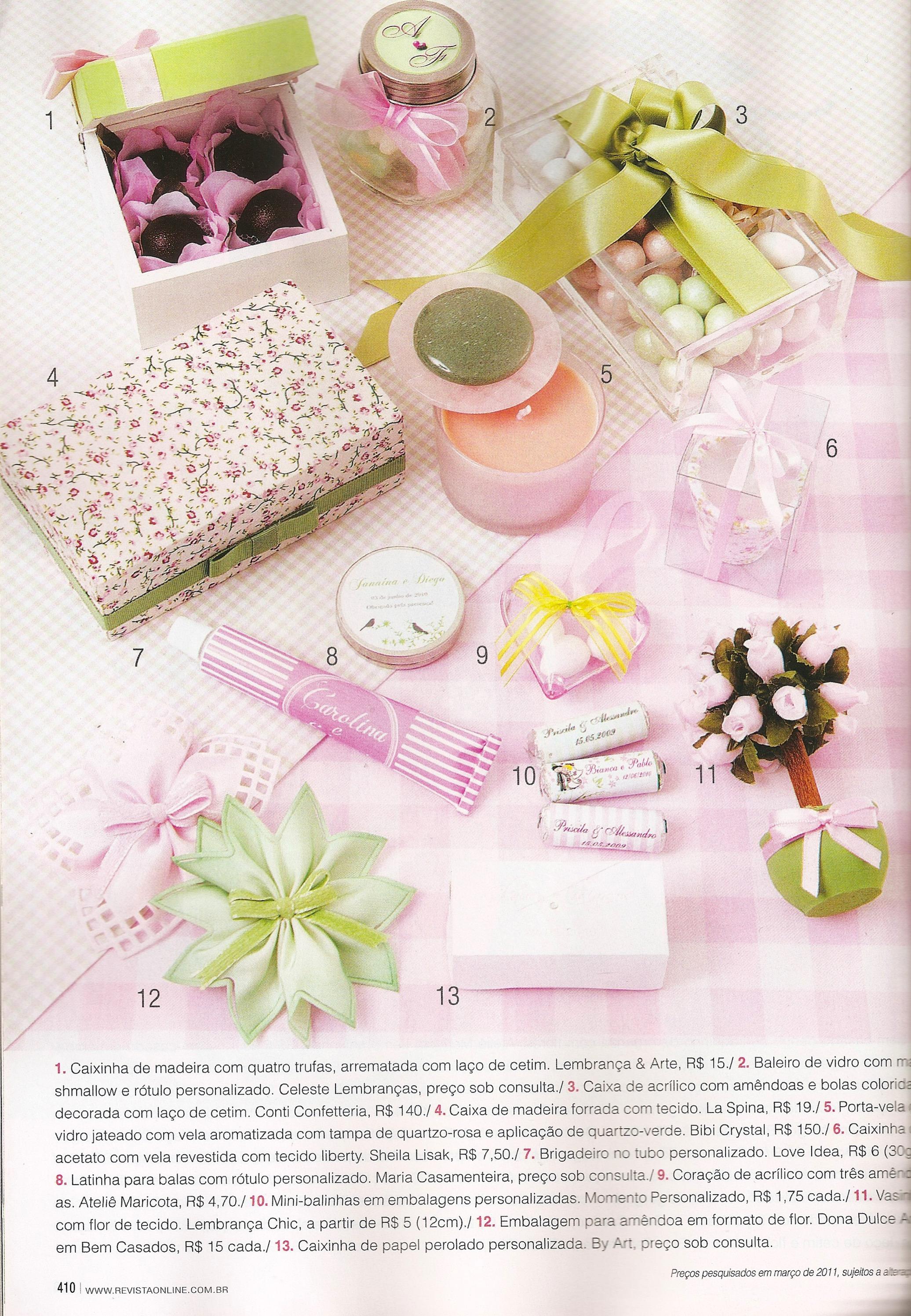 Revista Figurino Noivas - edição 64 de 2011