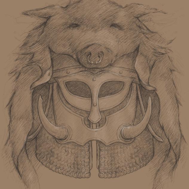 Boar Helm
