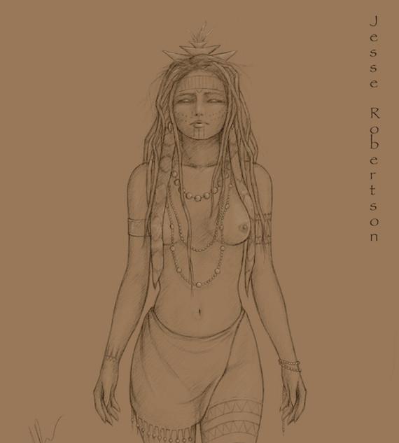 Powhatan Woman