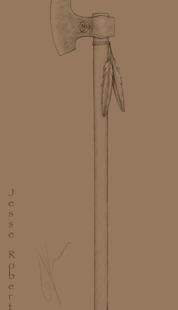 Pictish Axe