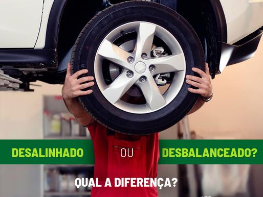 Desalinhado ou desbalanceado: qual a diferença?