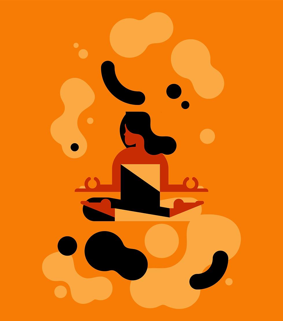 Meditation Illustration CBD CHOCOLATE illustration.png