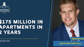 $175 Million in Apartments in 2 Years with Zach Haptonstall