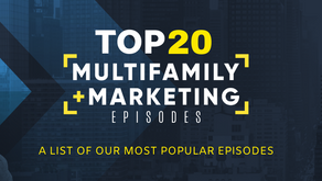 Top 20 Multifamily + Marketing Podcast Episodes