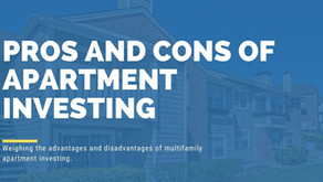 Investing in Apartments: Pros and Cons