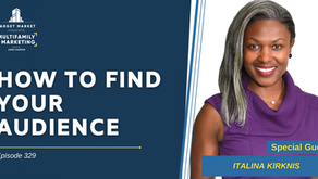 How to Find Your Audience with Italina Kirknis