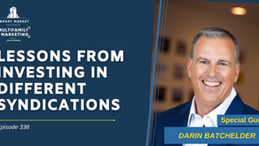 Lessons from Investing in Different Syndications with Darin Batchelder