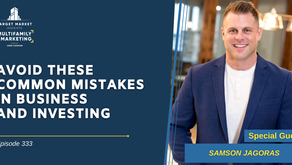 Avoid These Common Mistakes in Business and Investing with Samson Jagoras