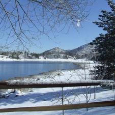 Lake Cuyamaca Snow