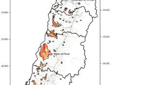Primera entrega: Evaluación del impacto sobre el paisaje de los incendios en Chile centro-sur del ve
