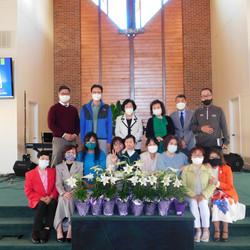 부활절 및 창립 22주년 기념 예배