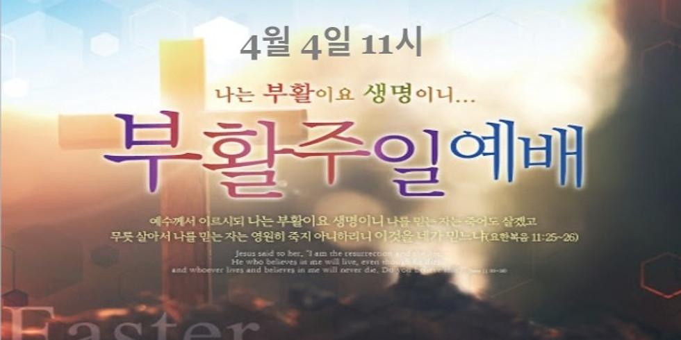 부활 주일 예배